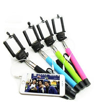 Monopod Selfie Stick With Aux Cable For Android & Iphone
