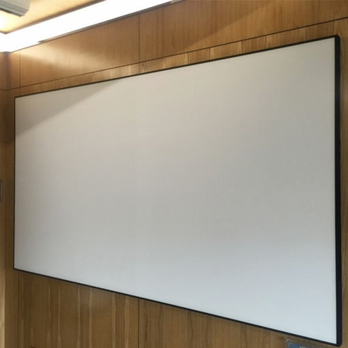 72'' Thin Bezel 4:3 4K Ultra HD Ready HDTV Home Cinema Fixed Frame Projector Movie Screen with slim aluminium frame