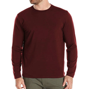 RFBEAR Brand cotton Solid color t shirt New 2016 Autumn and winter man T-shirt fashion long sleeved casual o-neck t shirt M-5XL