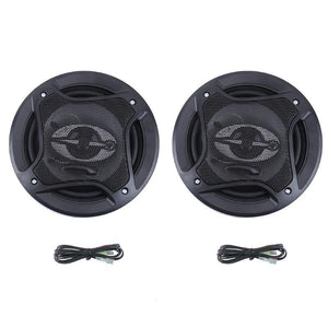 Universal 6inch 400W 3 Way Tweeter Car Speaker High Efficiency Mini Dome Loudspeaker Super Power Audio Sound Klaxon Tone New