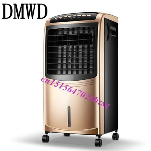 DMWD 6.5L large water tank anion air purification humidificationfloor standing Cooling fan