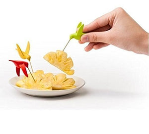 Bird Fruit Fork Stand