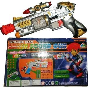 Space Toy Gun with Laser Sound and Lights
