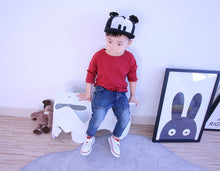 2018 New Spring Baby T Shirts Girl Boys Solid Color Long Sleeve T-shirt 1-7 Years Kids Tops Autumn Children Clothing Girls Tee
