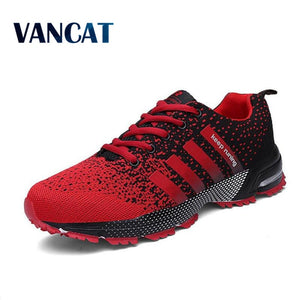 2018 Men Casual Shoes Autumn Summer mesh lovers shoes brand Fly Weave Light Breathable Fashion Shoes Comfortable Trainers ST25 Imported