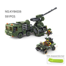 KAZI Military City Building Blocks Toys For Children Boy's Gift Army Cars Planes Helicopter Figures Weapon Compatible Legoe