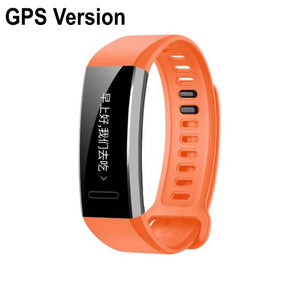 Original Huawei Sport Band 2 pro B29 B19 with GPS for Swimming Wristband with Heart Rate Monitoring Push message
