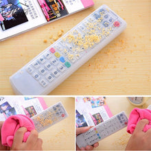 1PC Silicone TV Remote Control Cover Air Conditioner Control Case Waterproof Dust Protective Storage Bag Organizer Transparent