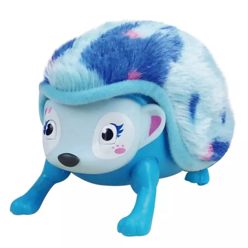 Interactive Pet Hedgehog with Multi-modes Lights Sounds Sensors Light-up Walk Roll Toys