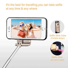 LANCASE Selfie Stick Phone Cases For iPhone 7 Case Cover Portable Foldable For iPhone 7 8 Plus Case Stretch Handheld Bluetooth