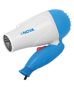Nova Professional Hair  Dryer Foldable 1000 watt (NV-1290)