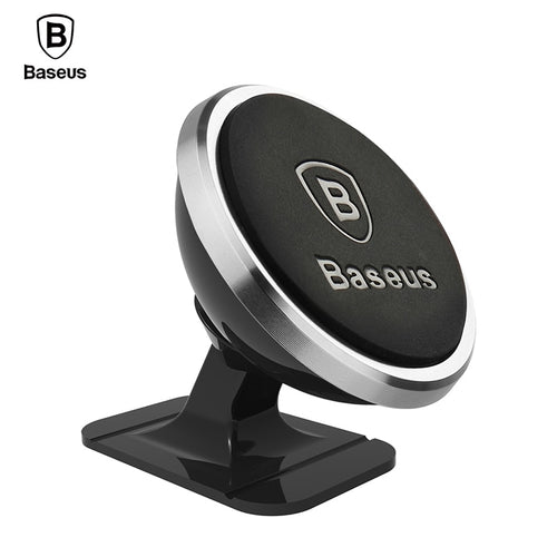 Baseus Universal Car Phone Holder 360 Degree GPS Magnetic Mobile Phone Holder For iPhone 8 Samsung S8 Magnet Mount Holder Stand