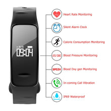 Portable Blood Pressure Pulse Monitors Heart Rate Bracelet Monitoring Health Care