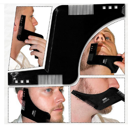 Beard Shaping Template Double sided Beard comb new hot sale 2017 eee