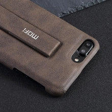 MOFi for iPhone 7 plus case luxury for women for iPhone 7 case leather back for men stand bracket brand original vintage cover