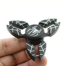 Spider man Black  Metal Fidget Hand Spinner with 5 to 6 Minutes Spin Time