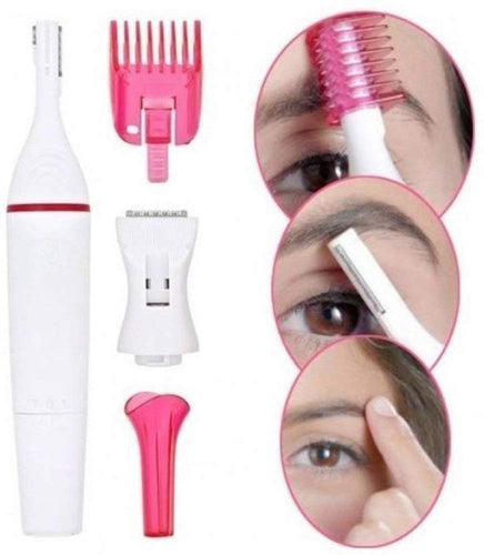 Sweet Sensitive Touch 5 in 1 Electric BIKINI Trimmer, Women Ladies Clipper Eye Brow Shaver