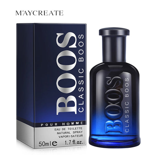 MayCreate 50ml Sexy Men Perfume Classic Cologne Fresh Lasting Fragrance Makeup Male Perfume Men Spray Fragrance Spray Bottle