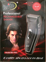 Brite Men's Rechargeable Shaver BS-990