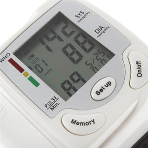1pc Wrist Blood Pressure Monitor health monitor blood pressure measurement Sphygmomanomete free shippingr