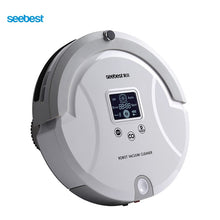 C561 WALL-E 1.0 Automatic Robotic Vacuum Cleaner with LCD Screen, Two Rolling Brush and Vacuum, Carpet Cleaner
