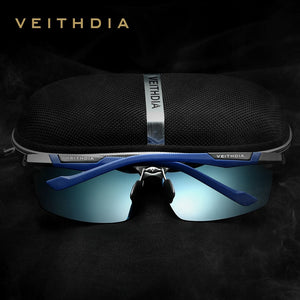 VEITHDIA Polarized Sunglasses Men New Arrival Brand Designer Sun Glasses With Original Box gafas oculos de sol masculino 6589