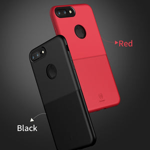Baseus Case For iPhone 7 Luxury Double PC + TPU Hybrid Cover Case For iPhone 7 Plus Protective Phone Fundas Coque