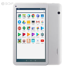 7 Inch Android 6.0 Tablet Pc Wifi Dual Camera LCD Quad Core Tablets Pc 1G+16G Storage Free shipping Kids Tablet 789