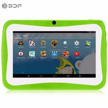 7 Inch Tab Pc Children kids learning Tablet Pc Android System Quad Core Installed Best gifts for Children 7 inch Tablets Pc