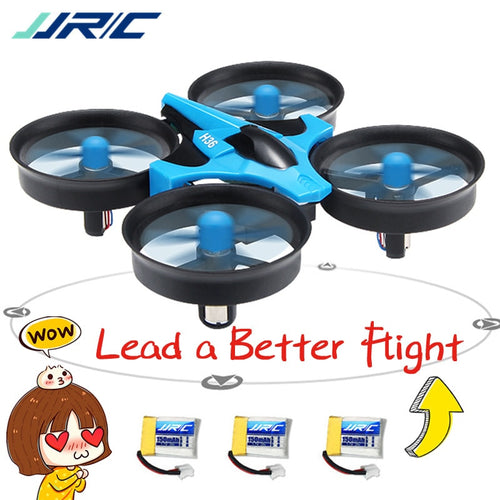 JJRC H36 Mini Drone 3D Flip RC Drone Quadcopter One Key Return RC Helicopter Dron for Kids Toys Headless Mode fit for Beginner