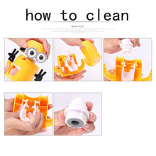 2017 Bathroom Products Automatic Toothpaste Dispenser Cute Plastic Bathroom Accessories Set Toothbrush Holder For Xmas Kid Gifts