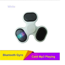 JOYTOP LED Bluetooth Speaker Fidget Gyro TF Card Music Fingertip Anti Stress Relief Kids Adults Toy Gifts Charging Hand Spinner