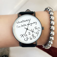 New 2018 Popular Women Casual Watch ladies Leather Luxury Watches Woman Sport Quartz Wristwatch simple female Clock Hours black