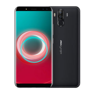 "Ulefone Power 3S 6.0"" 18:9 FHD+ Mobile Phone MTK6763 Octa Core Android 7.1 4GB+64GB 16MP 4 Camera 6350mAh Face ID 4G Smartphone"