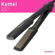 Professional Electronic Hair Straightener Irons Adjustable Temperature Portable Ceramic Flat Straightening Styling Tools EU plug