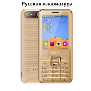 Quad Sim Cell phone Quad Band 2.8 inch 4 SIM cards 4 standby Phone Bluetooth Flashlight MP3 MP4 GPRS Russian Language keyboard
