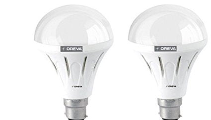 OREVA 10W ECO LED BULB - 2 PCS SET