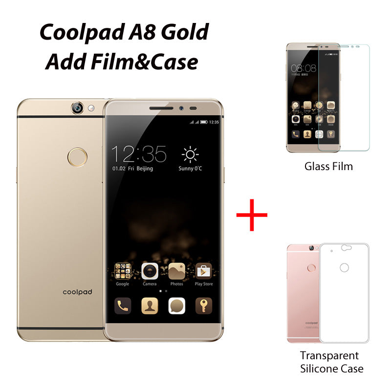 Original Coolpad Max A8 4GB 64GB Smartphone Snapdragon MSM8952 Mobile Phone Octa Core Cell Phones 5.5