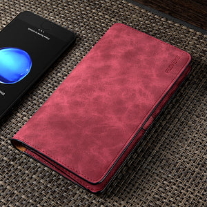 FLOVEME Universal Retro Leather Wallet Case For iPhone 8 X 8 Plus Card Slot 5.5 inch Phone Pouch For iPhone 7 6 6s Plus Cover