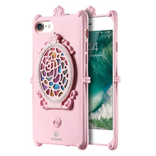FLOVEME Luxury Cell Phone Cases For iPhone 6 6S Plus iPhone7 Case For iPhone 7/7 Plus Phone Coque Diamond Mirror Lady Girl Capa