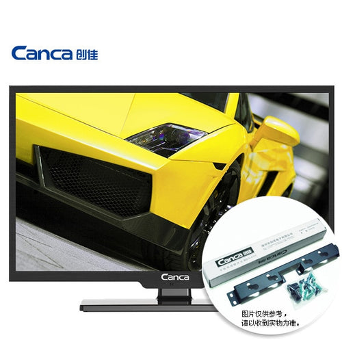 Free Shipping CANCA 24HME5000 CP64 24 inch multimedia HD LED LCD flat panel TV Display monitor Full HD HDMI/USB/AV/RF/VGA