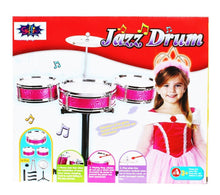 JAZZ DRUM SET MULTI-COLOR FOR KIDS