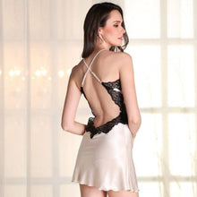 Silk Nightgowns Women Home Dress Sexy Nightgowns Sleep Wear For Women Sleep Dress Women Ropa De Dormir 8623