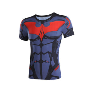 2017 New Batman T Shirt Captain America Civil War Tee 3D Printed T-shirts Men Marvel Avengers Fitness Male joges Crossfit Tops