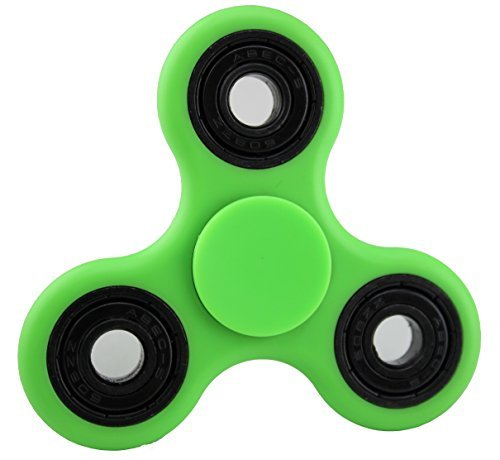Green and Black Fidget Hand Spinner