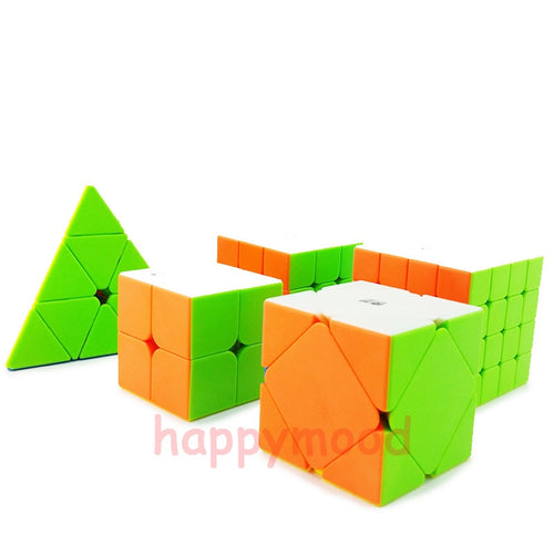 Smoothly Professional Speed Magic Cube Puzzle Twist Classic Brain Game Pyramid Skewb qiyi 2x2x2 3x3x3 4x4x4
