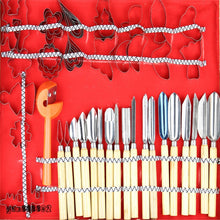 80pcs Culinary Practical Carving Tool Set Fruit vegetable Garnishing Decorators Food Engraving Knife