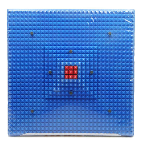 Acupressure Mat for Foot Massage Magnetic Pyramidal Therapy Energy For Pain Relief