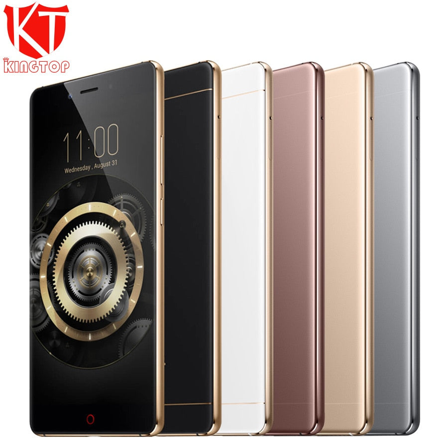 KT New ZTE Nubia Z11 Mobile Phone 4GB RAM 64GB ROM Snapdragon 820 Quad Core 5.5