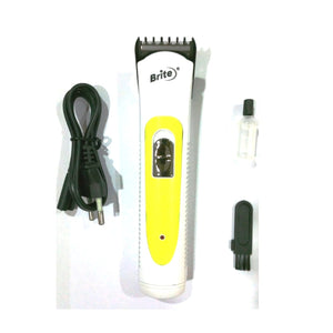 Brite Rechargeable Electronic Hair Trimmer BHT-740